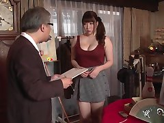 Japanese wife becomes pawnbroker's property