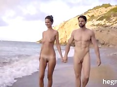 Hegre-Art - Tantric Beach Massage (Charlotta)