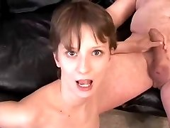 Rimming - Ugly Girl Licking Older Mans Ass
