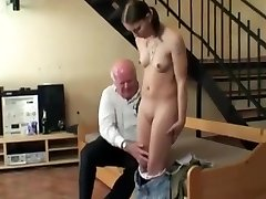 Hot mature plumpers Paula and Remy taking turns in welcoming a young cock into their holes
