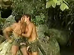 Super sexy lady in red gets her neat ass gaped and jizzed by a horny stud