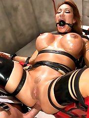When Bill\'s suspicions of his wife being unfaithful turn out to be true, he sets out to punish her with extreme sexual domination.  Ava gets strapped into a futuristic sex chair and overloaded with sensations for her infidelities.  While in bondage, she is anally fucked and takes a man size fist all the way in the ass making her orgasm hard.