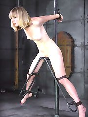Mona Wales is an experienced player. We like that because she knows what to expect so we can go harder, faster, and longer. She is a dominant person when she plays at home but for people as well versed in the art of BDSM as we are, she is going to have to learn her place. She may be fine at taking control of others but here, on our turf, she is the play thing and we are the masters.