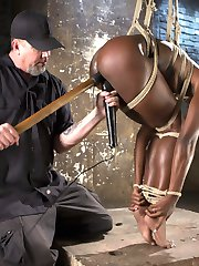 Ana amazingly fit body is tested in every grueling bondage position. The torment tests her...