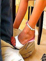 Slip slave femdom with Mia Anderson