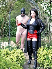 Leather Dommes Toy Boy
