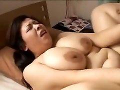 Hot and hung ladyboy unloads her balls