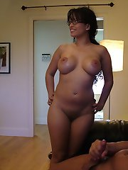 Dick met Mason, a still-married mom, on the web, but he wasn't sure she would be as advertised: a hot, busty Latina. He definitely was not disappointed when she opened the door, and he was even more pleased when she dropped to her knees, whipped out her big titties and started sucking away on his cock!