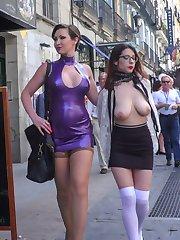 Part 1 - Zenda Sexy Walk of ShameThe beautiful, busty Zenda Sexy is back for more disgrace. How...