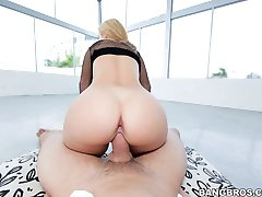 This Ass Parade is fucking insane! We brought in the sexy Jessie Rogers and I think this might be the sexiest ass I have seen. She walk around the pool showing her goods and then she begin to stroke m
