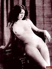 Sexy vintage hairy pussies