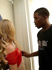Erika Devine Interracial Black Cock Movies at Blacks On Blondes!