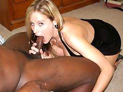 Wild girlfriend fucking lovers black boner