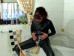 Rubber bizarre perverted