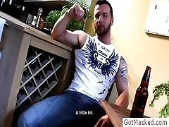 Muscled stud bragging about his great part4