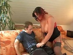 bbw mature busty hairy cristiana troia culo figa takes hard cock in the ass all the way tits nipples