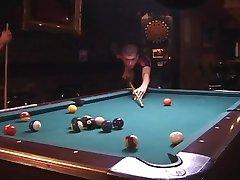 Fucking on Pool Table
