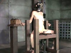 Gas masked sub gets shock treatment