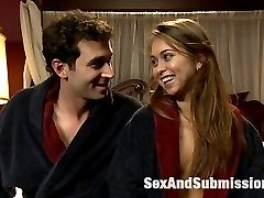 Riley Reid gets tied up and has rough dominating sex with James Deen in this fantasy role-play...