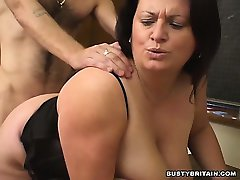 BBW Angel Banged In Classroom