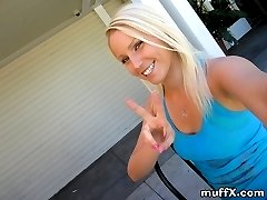 Outstanding quality pictured of ultrablonde teen Vanessa C. as she shows her tits and big ass in...