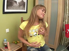 Petite Cutie Toys Her Ass And Pussy - FBA Publications