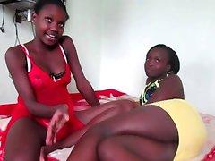 Amateur African lesbians 11 - Naija style!