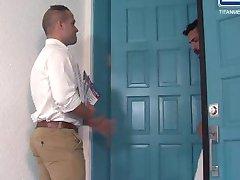 Adam Ramzi and Luke Adams in Cauke 4 Pres