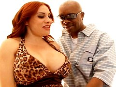 Rosana De La Vega gets fucked by two black cocks in this hardcore video