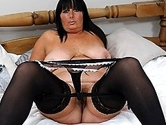 This horny mature slut loves to play around