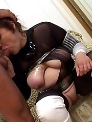 Horny son is fucking his mother real hard