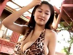 Erina Yamaguchi posing her big tits