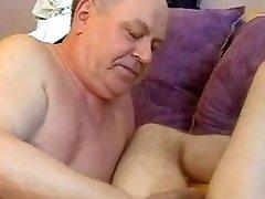 Grandpa seduces Boy