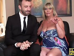 Busty mature britt sub  fucked roughly