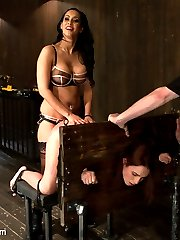 Part 2 of 4 from the live February shoot, is packed full of extreme anal and intense torture....