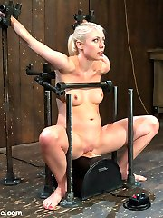 It came to my attention that Device Bondage has never put Lorelei Lee on a Sybian. So we built a...