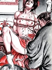 hardcore anime bondage
