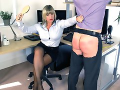 Office Boy Reprimand