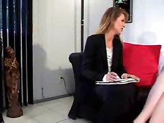 Young Lesbian seduces her Teacher