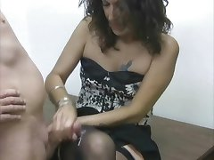 Nylons and cumshot compilation ST69