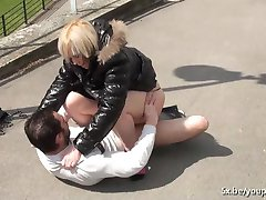 Lola outdoor anal fucked