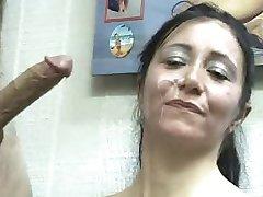 Mature Facial cumshoot