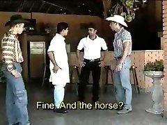Latin Cowboys Threesome