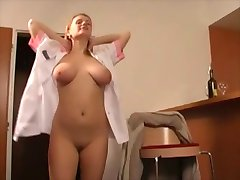 Careless maid impregnanted by old guy