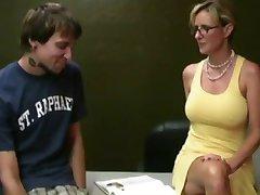 Mom Giving Handjob to Shy Boy by TROC