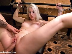 19 year old blond cutie gets fucked every which way but loose in this sexy hard core update....