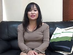 47yr old MILF Saeko Yusako Katai Creamed (Uncensored)