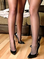 These stunners just look fantastic in stockings and high heels