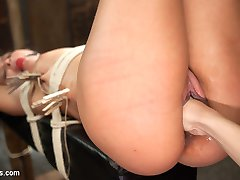 Horny lesbian slut, Mia Austin, devotes her self to the sadistic pleasure of her mistress,...