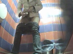 Girls exposed to spy cam in public loo